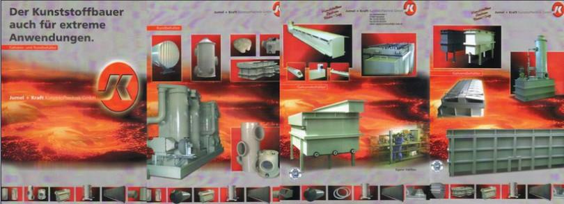 Apparate und Behälter aus Kunststoffen