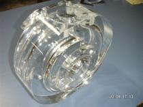 Pumpengehäuse aus Acrylglas