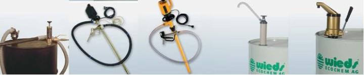 Pumpen für Explosive Stoffe, Säure, Lauge und zur Entsorgung direkt ins Fass