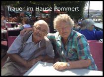 Trauer im Hause Pommert: Bild der verstorbenen Eltern