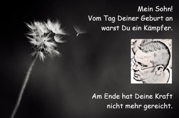 Trauerkarte Stephan Edel