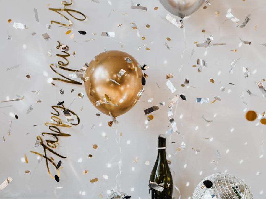 Happy New Year von Karolina Grabowska bei Pexel